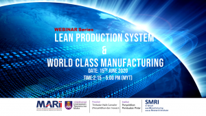 LEAN PRODUCTION SYSTEM & WORLD CLASS MANUFACTURING