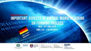 Important Aspects of Virtual Manufacturing on Forming Process – Live from Germany