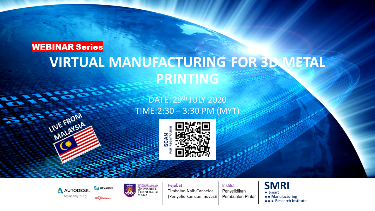 VIRTUAL MANUFACTURING FOR 3D METAL PRINTING