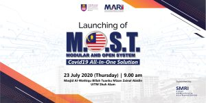 "Launching Ceremony of Smart Manufacturing Research Institute (SMRI) Product Series: ""MOST- Plus "" Modular Open System COVID-19 All-In-One Solution & Launching of Commercialisation Products with Malaysia Automotive, Robotics and IOT Institute"
