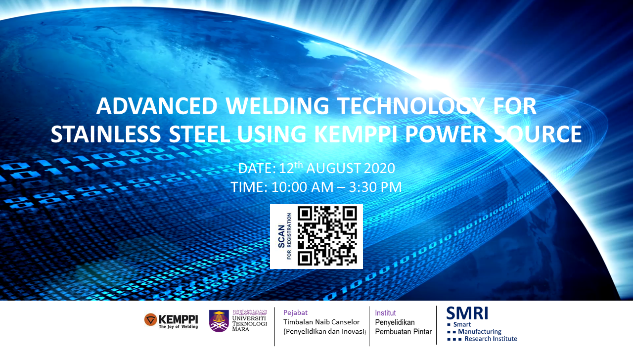 ADVANCED WELDING TECHNOLOGY FOR  STAINLESS STEEL USING KEMPPI POWER SOURCE