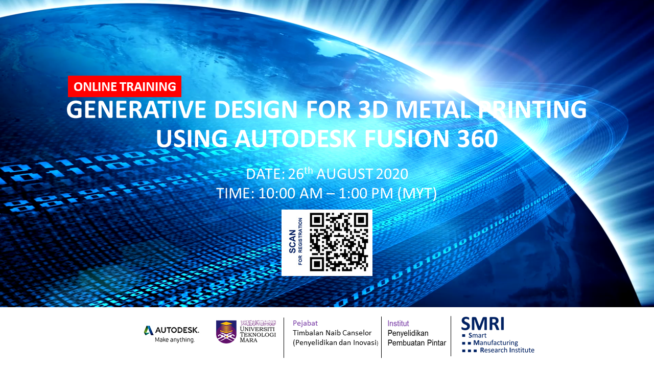 GENERATIVE DESIGN FOR 3D METAL PRINTING USING AUTODESK FUSION 360