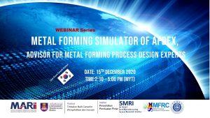 Metal forming simulator of AFDEX, Advisor for metal Forming process Design EXperts