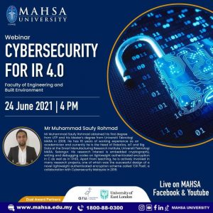 Cybersecurity for IR4.0