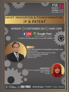 Join us in Smart Innovation and Tranformation (IP & Patent)